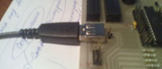 pitanie cherez USB