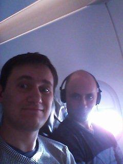 летим в самолете