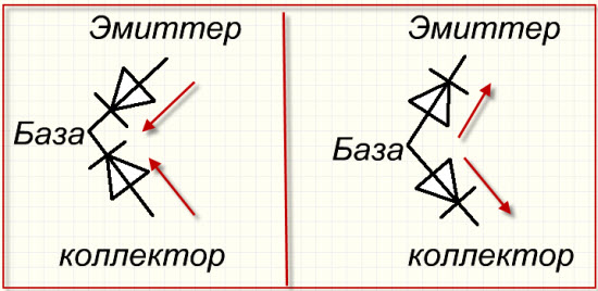 транзистор как диод