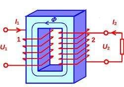 Как работает трансформатор напряжения