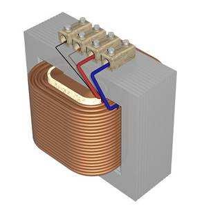 Трансформатор напряжения 3д модель