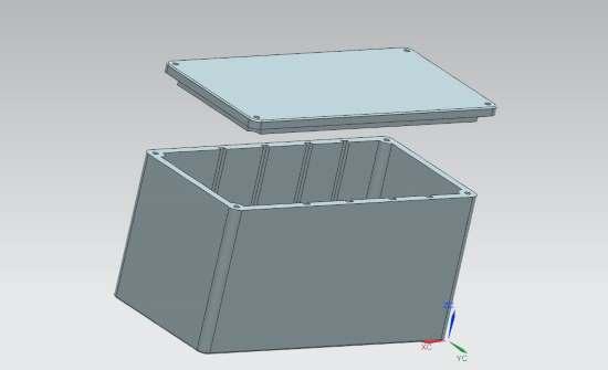 3d модель корпуса