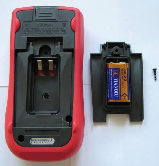 Батарейный модуль мультиметра