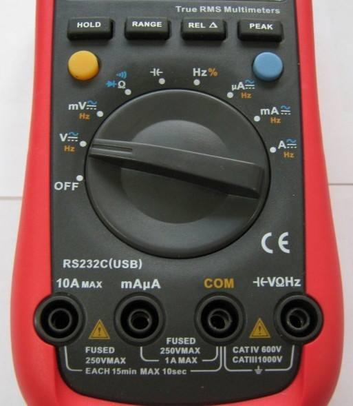 Корпус мультиметра Uni-T UT61E