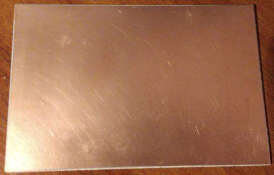 подготовка поверхности текстолита