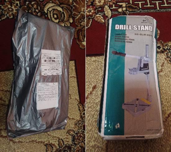 Стойка для дрели DRILL STAND BD-QLM-8011